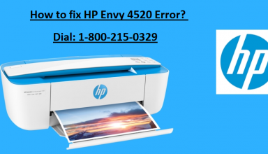 How to fix HP Envy 4520 Error