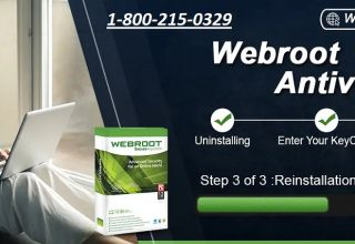 Reinstall Webroot Antivirus